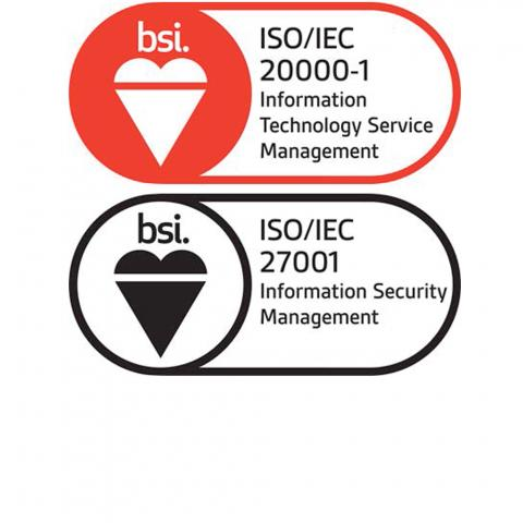 bsi ISO/IEC 20000-1 Information Technology Service Management, bsi ISO/IEC 27001 Information Security Management